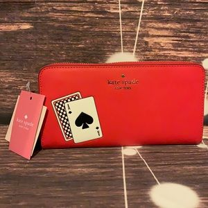 🌺 KATE SPADE 🌺LUCKY DRAW MULTI LARGE CONTINENTAL